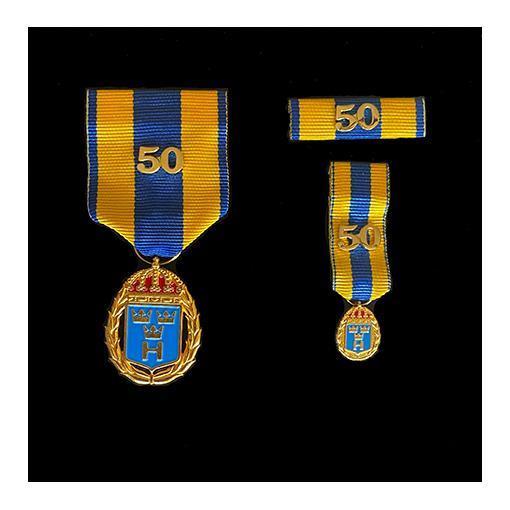 Medaljset (HvTjgGM50), stort