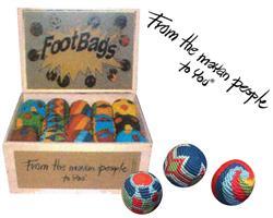 Display footbags från Guatemala (1 paket)