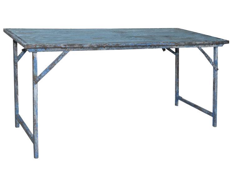 Vintage Indien - Klappbord blå (2 pack)