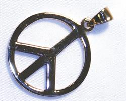 Halsband - Brons Peace (3 pack)