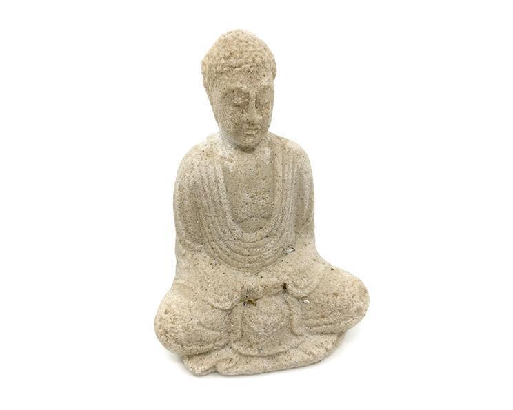Buddha - Vit 10cm (12 pack)