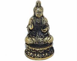 Brons - Miniatyr Guanyin (2 pack)