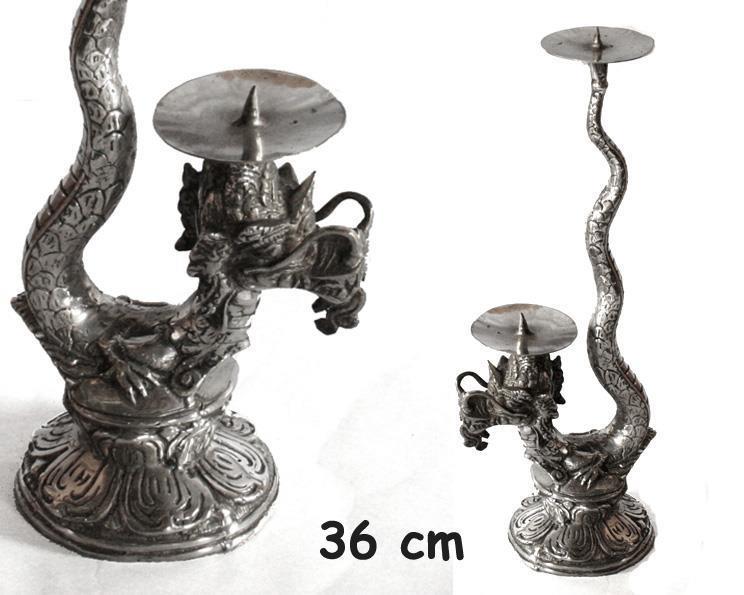 Brons - Silver drake 36cm (2 pack)