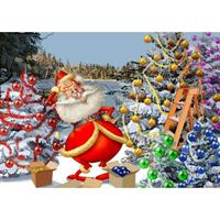 Puslespill Christmas Countdown, 500 brikker