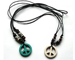 Halsband - Peace mix (12 pack)