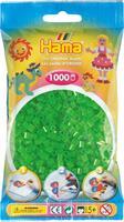Hama perler Midi, Neon Grønn 207-37 1000stk