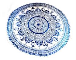 Beachroundie - Mandala blå (3 pack)