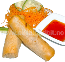 3. Vietnamesisk vårrull (2stk) *G,E,M,S