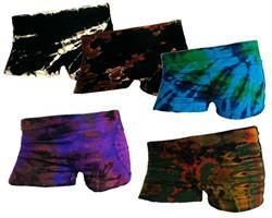 Hotpants - Tie dye mix (5 pack)