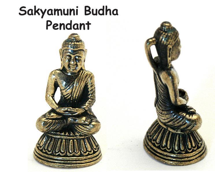 Brons - Hänge till halsband Buddha (4 pack)