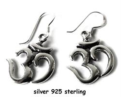 925 Silver - Örhängen OM (3 pack)