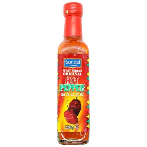 East End West Indian Hot Pepper Sauce 12x220ml