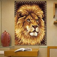Ryeteppe vegg, Løve 120*84cm