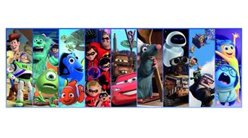Puslespill Panorama Disney Pixar, 1000 brikker