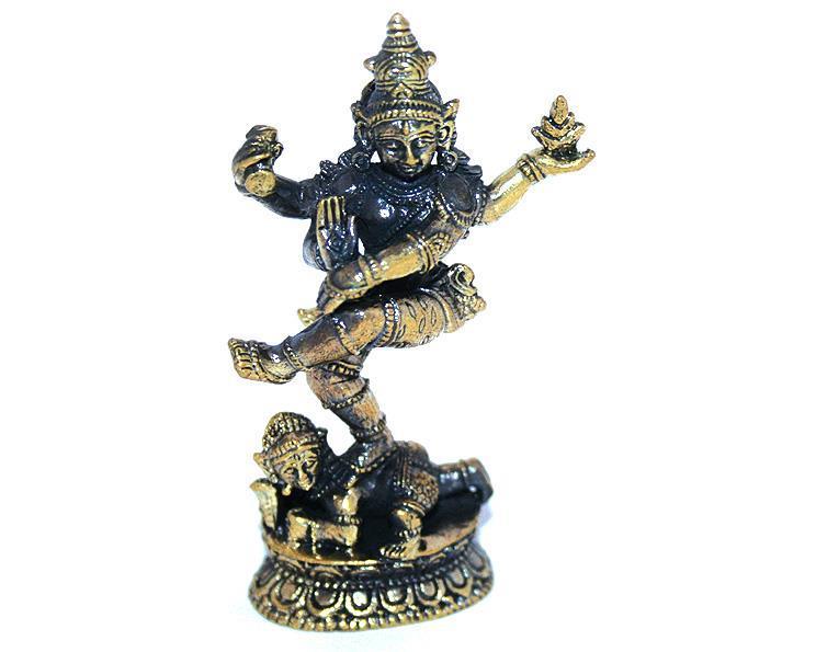 Brons - Miniatyr Shiva Nataraja I (2 pack)