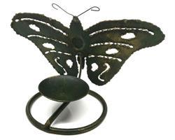 Smide - Ljusstake fjäril (12 pack)