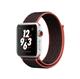 Apple Watch Sport Loop 42 mm - Sort-Rosa