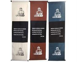 Wallhanging - Lycka Dalai Lama mix (3 pack)