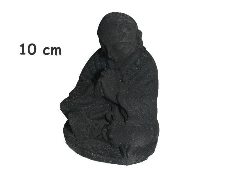 Shaolin monk - Svart 10cm (12 pack)