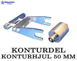 KONTURDEL + KONTURHJUL Ø 50 MM