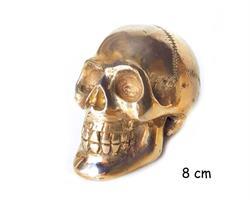 Brons - Guld skalle 8cm (4 pack)