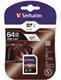 Verbatim SDXC Minnekort, 64GB UHS-I CLASS-10
