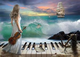 Puslespill Sea Symphony 1000 brikker