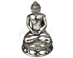 Brons - Silver Buddha 14cm (2 pack)