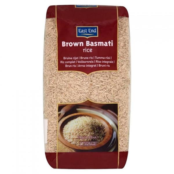 East End Brown Basmati Rice (Brick Pack) 4x2kg