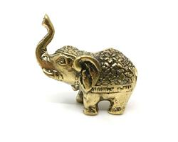 Brons - Guld elefant mini (6 pack)