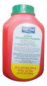 East End Green Colouring Powder 1x500g