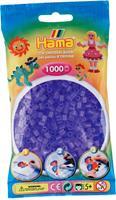 Hama perler Midi, Transparent Lilla 207-74 1000stk