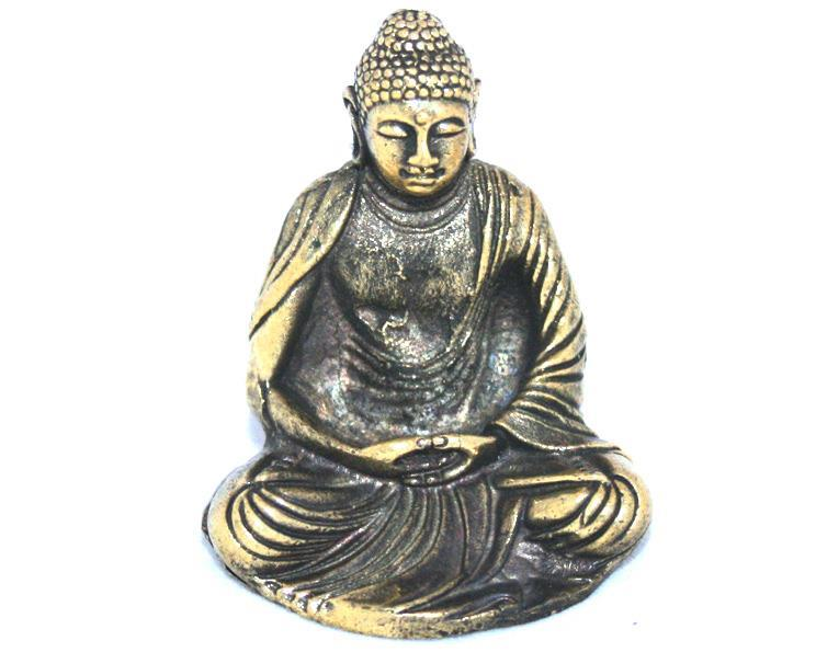 Brons - Miniatyr Buddha Japan (2 pack)