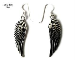 925 Silver - Örhänge Angelwings I (2 pack)