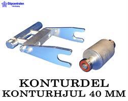 KONTURDEL + KONTURHJUL Ø 40 MM