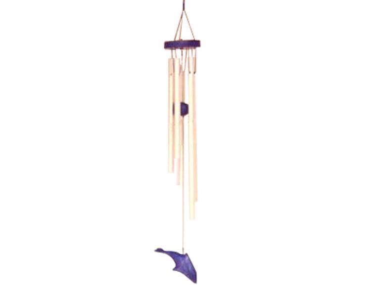 Vindspel - Delfin blå (6 pack)
