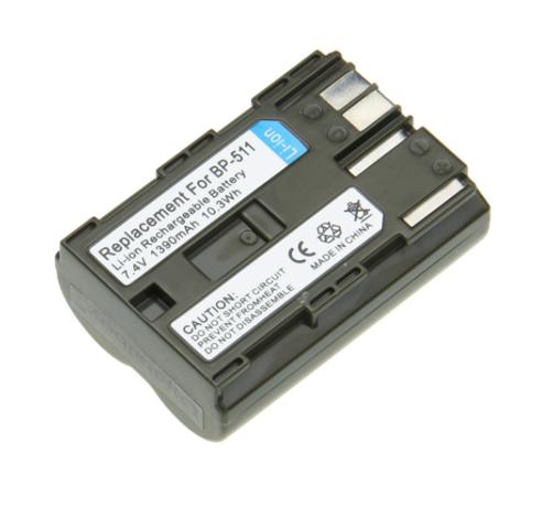 Canon BP-511 Erstatnings batteri