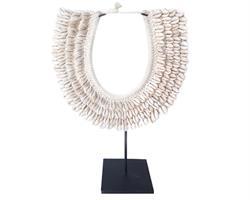 Papua - Halsband med små cowry snäckor (2 pack)
