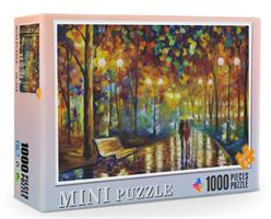 Mini Puzzle, By i høstmørket 38*26cm (66-004) 1000 brikker
