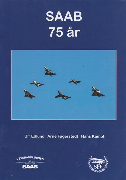 SAAB 75 år jubileumsskrift