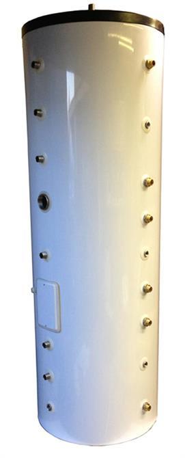 Teknik tank 300 Liter med 3 slingor/varmvattenberedare         Pris 8995:-