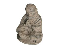 Shaolin monk - Grå 10cm (8 pack)
