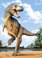Diamond Painting, Dinosaur 34*24cm (K082) FPR