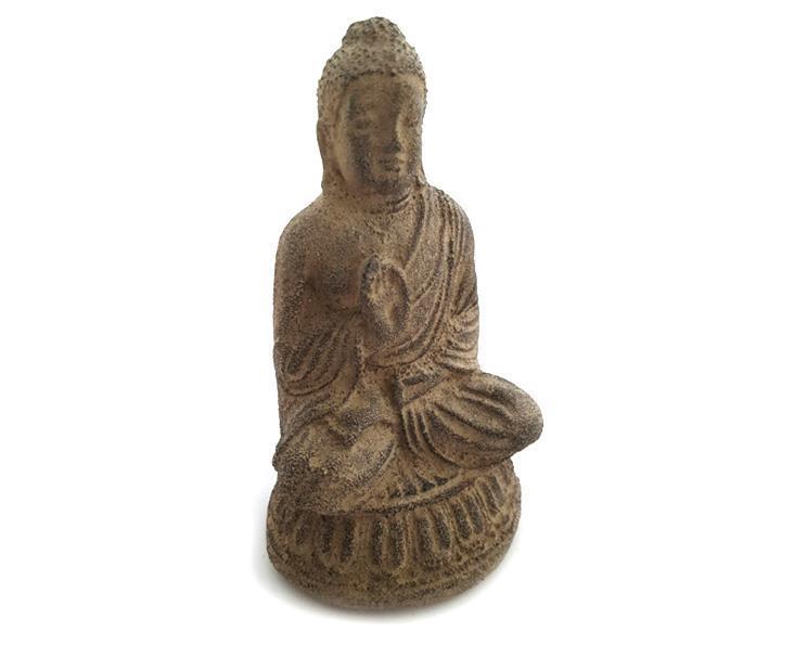Buddha - Lotus brun 15cm (6 pack)