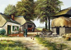 Puslespill Farm House, 1000 brikker