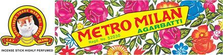 Agarbatti Metro Milan 12*pack
