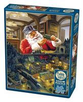 Puslespill Santa's Railway, 500 brikker
