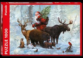 Puslespill Santas Team 1000 brikker