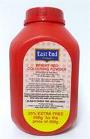 East End Bright Red Colouring Powder 1x500g