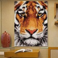 Ryeteppe vegg, Tiger 69*54cm